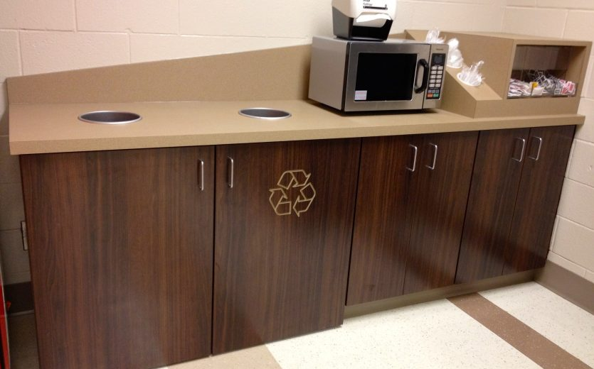 Custom Laminate Recycle Stations